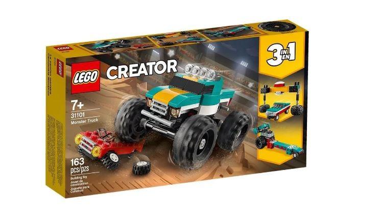 Lego Creator Caminhão Gigante 3 em 1 31101