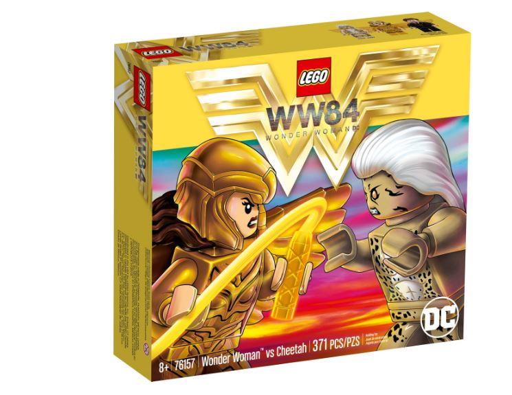 Lego DC Comics Mulher Maravilha? vs Cheetah 371 Peças 76157