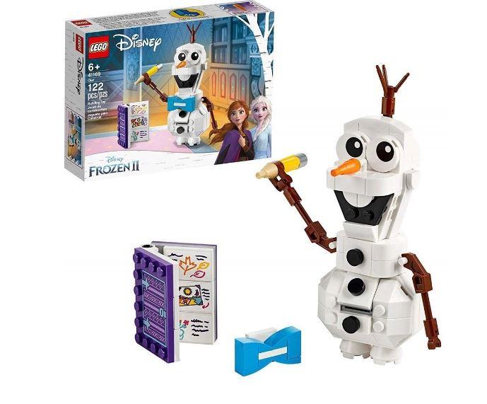 Lego Disney Frozen II Boneco De Neve Olaf 122 Peças 41169