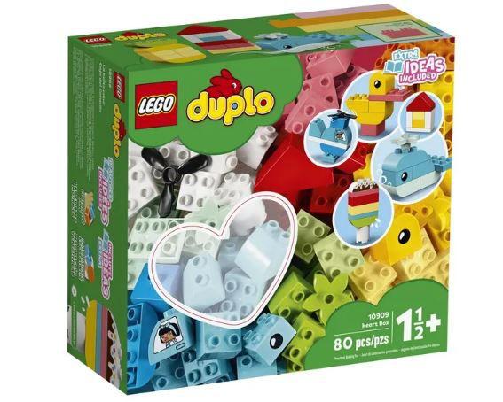 Lego Duplo  Caixa Coração 80 peças 10909