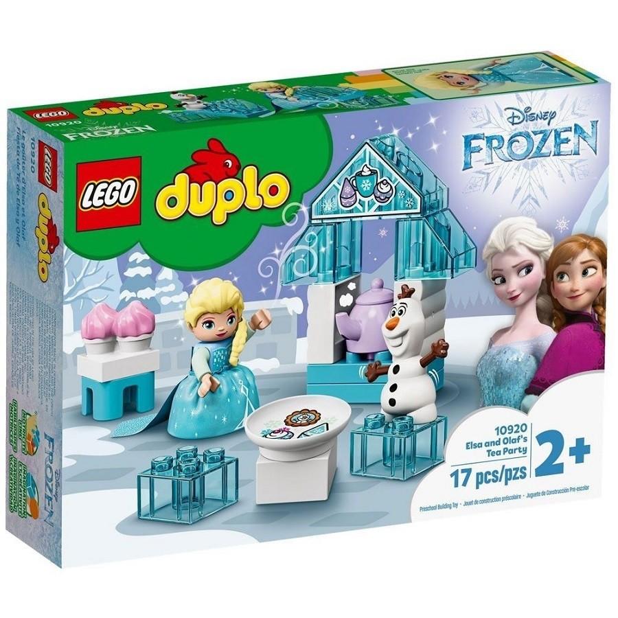 Lego Duplo Disney Frozen Festa Do Chá Da Elsa e do Olaf 10920
