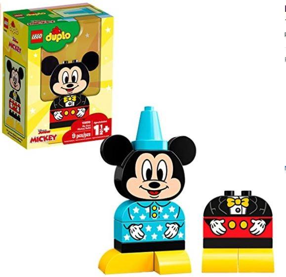 Lego Duplo  Disney Meu Primeiro Mickey Mouse 10898