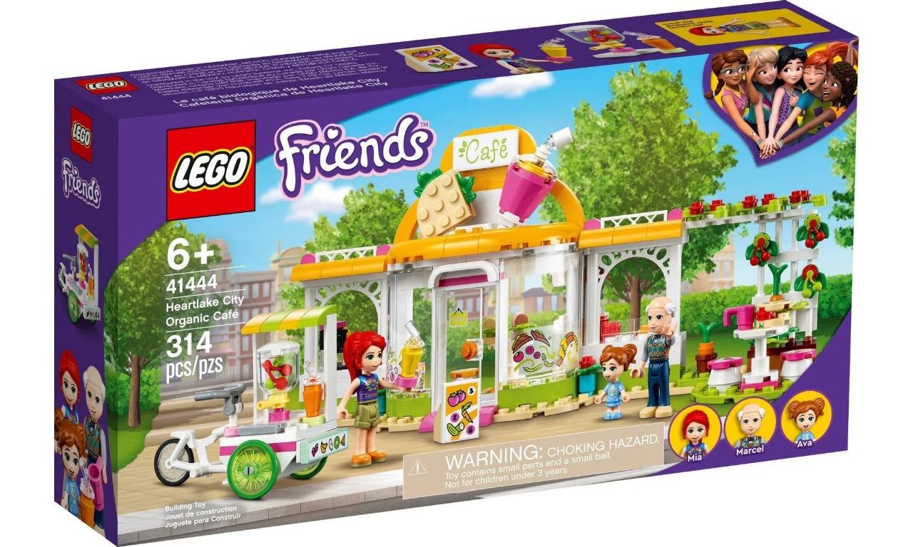 Lego Friends Café Orgânico De Heartlake City 314 Peças 41444
