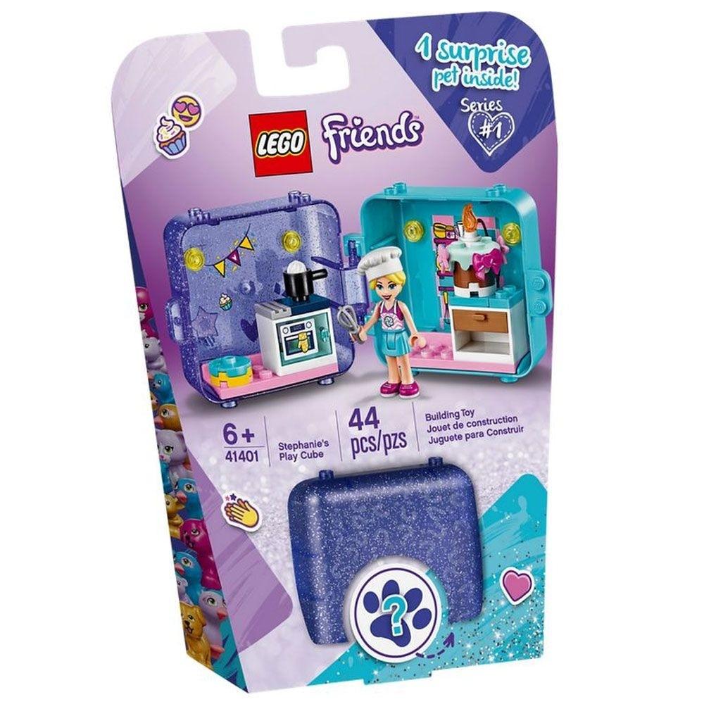 Lego Friends Cubo de Brincar da Stephanie 44 Peças 41401