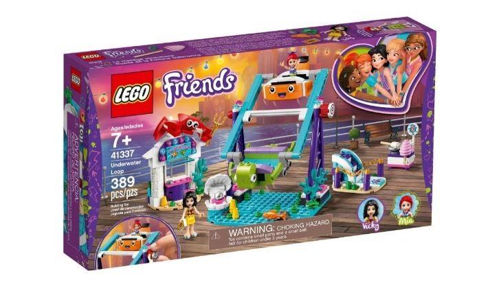 Lego Friends Looping Subaquático 389 Peças 41337