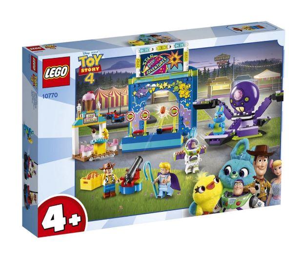 Lego Juniors Toy Story 4 A Paixão Pelo Carnaval De Buzz e Woddy 10770