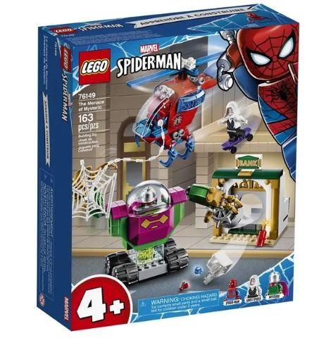 Lego Marvel Homem Aranha a Ameça De Mysterio 76149