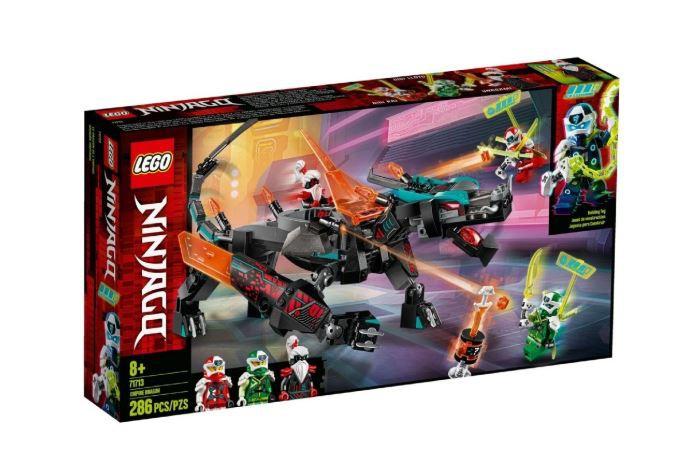 Lego Ninjago Império Do Dragão 286 Peças 71713