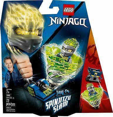 Lego Ninjago Lançador Spinjitzu Slam Jay 70682