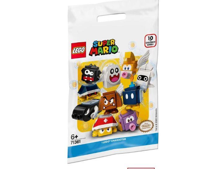 Lego Super Mario Colecionável Minifigura Pacote De Personagem Sortido 71361