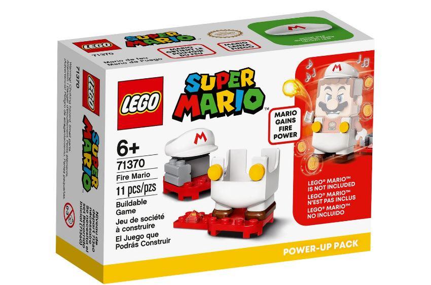 Lego Super Mario Pacote Power Up Mario De Fogo 71370