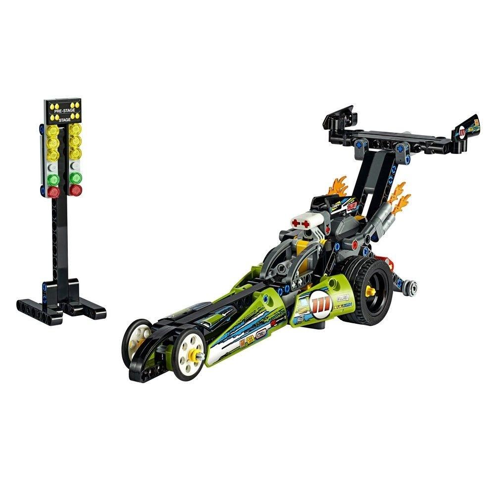 Lego Technic Dragster 2 em 1 Hot Rod 225 Peças 42103
