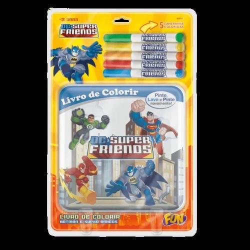 Livrinho Infantil Pinte e Lave Batman 81087 Fun