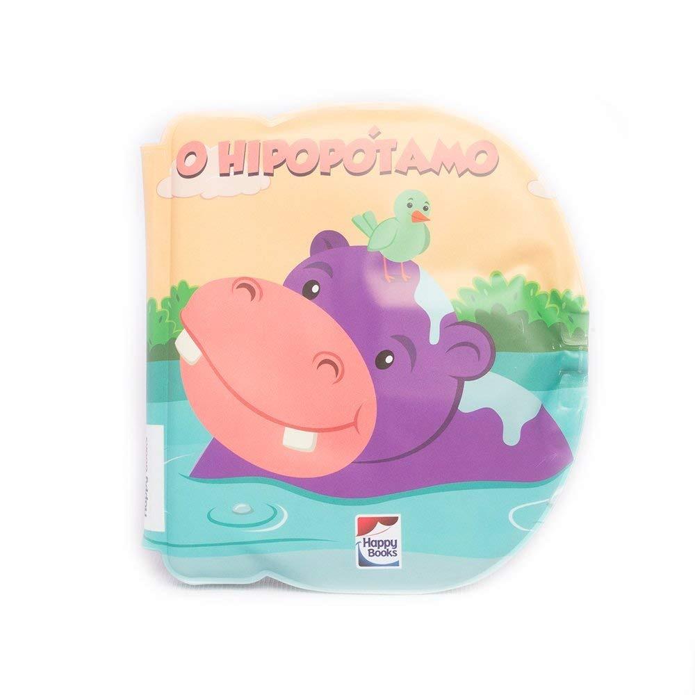 Livro Bolhas Divertidas O Hipopótamo Happy Books