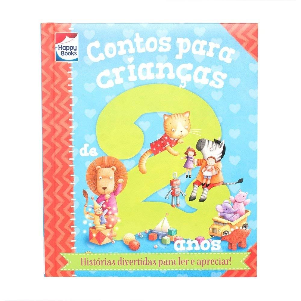 Livro Infantil Contos Para crianças De 2 Anos Happy Books