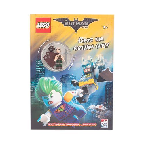 Livro - Lego the Batman movie: Caos em Gotham City!