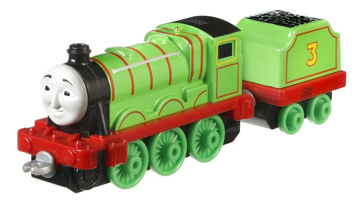 Locomotiva Henry E Seus Amigos Fisher-Price
