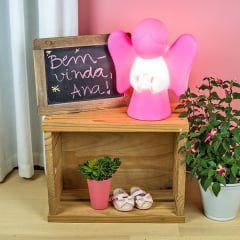 Luminária Anjinho - Rosa Usare