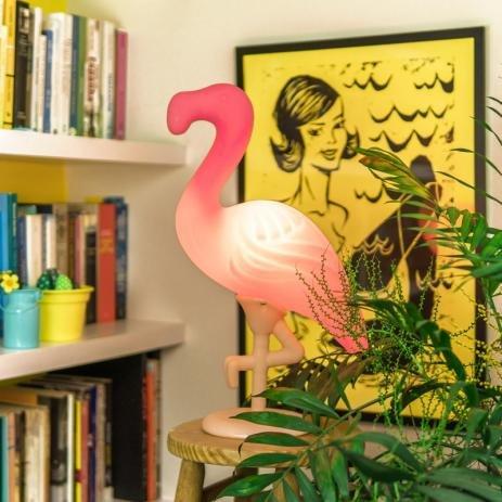 Luminária Flamingo Salmão Bivolt 1662 Usare