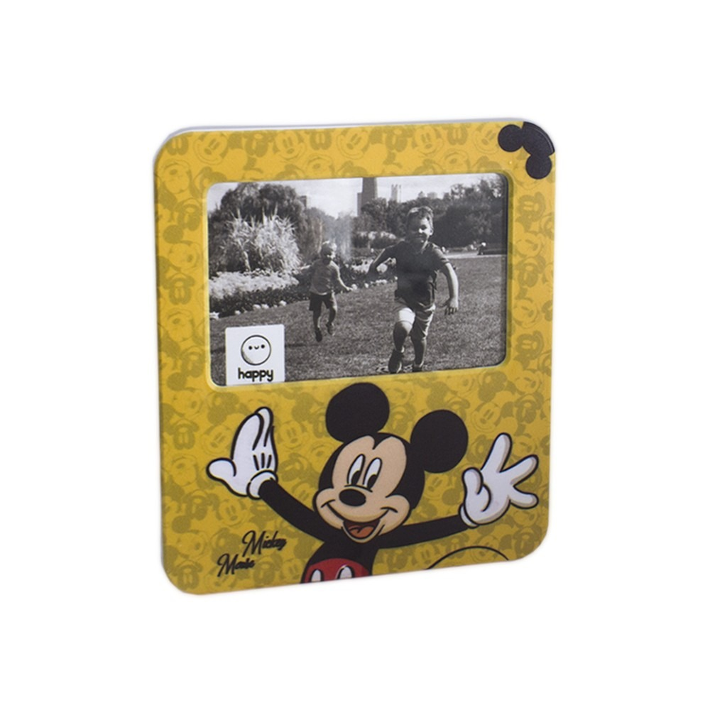 Luminária Porta Retrato Mickey Mouse 23cm De Altura Happy