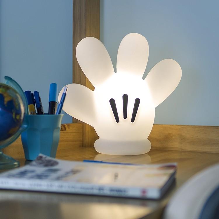 Luminária Temática Luva Do Mickey 26 cm De Altura Usare