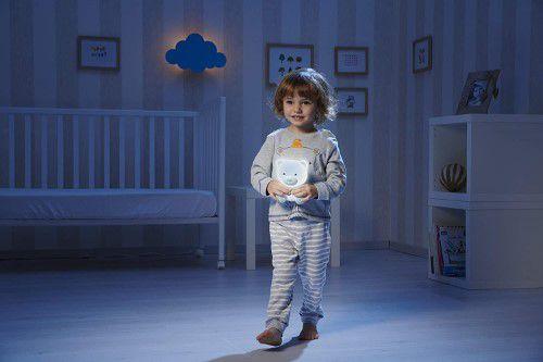 Luminária Ursinho Bons Sonhos Azul Dreamlight Chicco