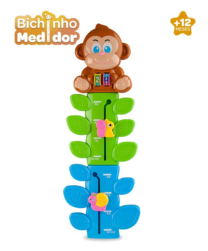 Macaquinho Medidor de Altura 1228 Zoop Toys