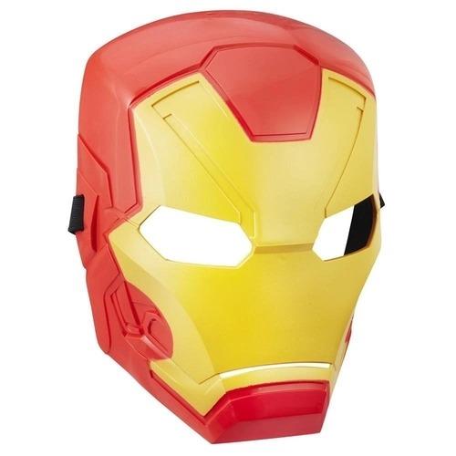 Máscara Infantil Temática Homem De Ferro Guerra Civil Marvel Com Apoio Emborrachado Hasbro