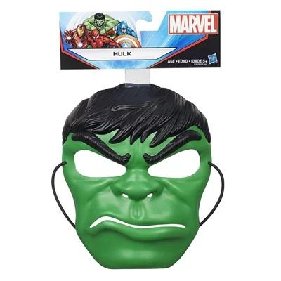 Máscara Infantil Temática Maleável Hulk Marvel Avengers Hasbro