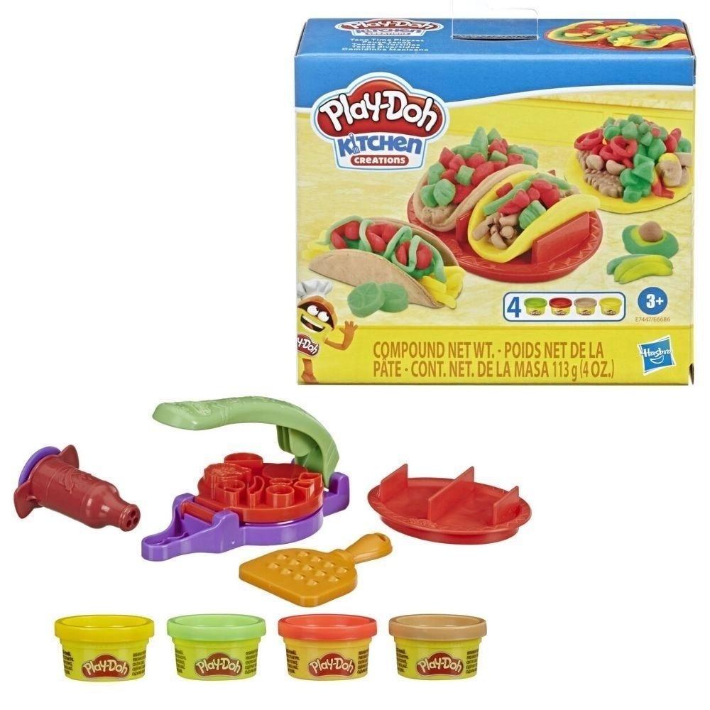 Massinha de Modelar Comidinha Mexicana Play Doh Kitchen Creations Hasbro
