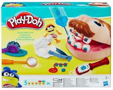 Massinha De Modelar Play Doh Conjunto De Dentista Hasbro