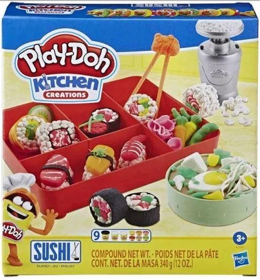 Massinha De Modelar Play Doh Conjunto De Sushi Hasbro