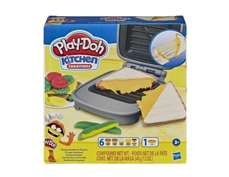 Massinha De Modelar Play Doh Sanduiche De Queijo Hasbro
