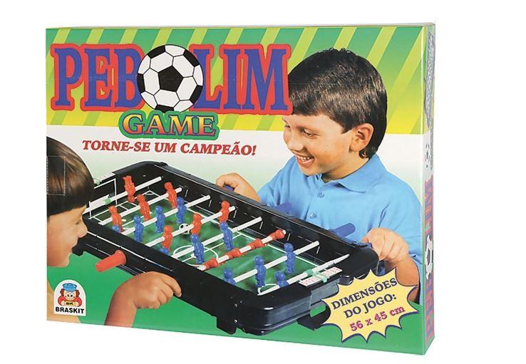Mesa De Pebolim Game Jogo Futebol Braskit