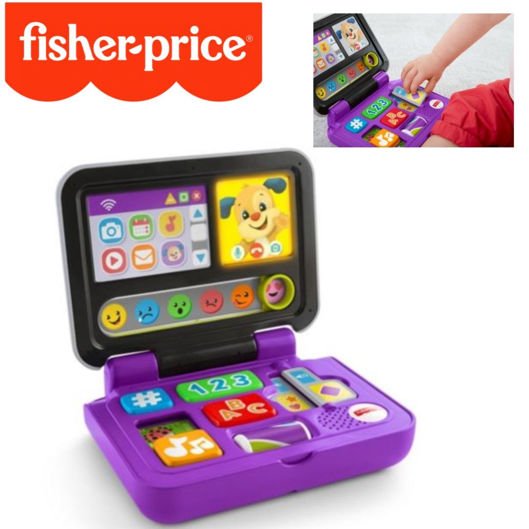 Meu Primeiro LapTop Clicar E Aprender Com Mais De 40 Sons Fisher Price