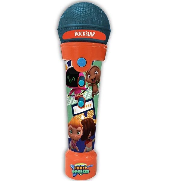 Microfone Infantil RockStar Com Som Luzes Led E MP3 Player Fun