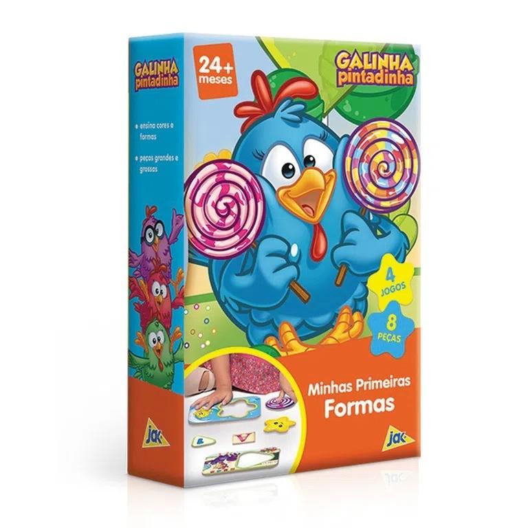 Minhas Primeiras Formas Galinha Pintadinha 2639 Toyster