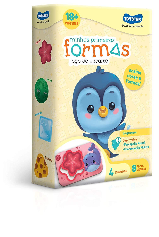 MINHAS PRIMEIRAS FORMAS TOYSTER