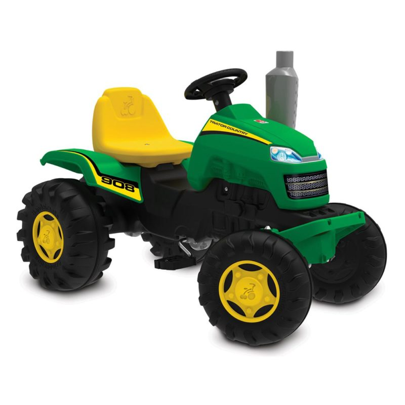 Mini Veículo Pedal Infantil Trator Country Verde Bandeirante
