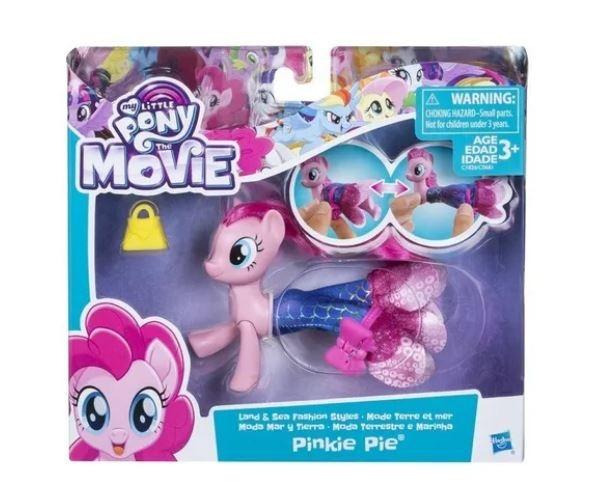 My Little Pony Vestido Mágico Moda Terrestre e Marinha Pinkie Pie Hasbro