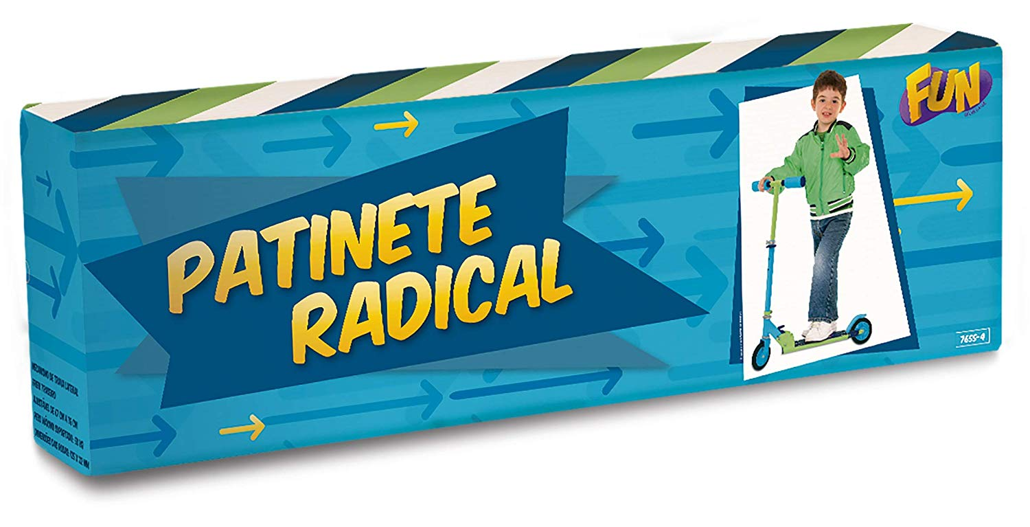 PATINETE RADICAL BOYS 7655-4 FUN