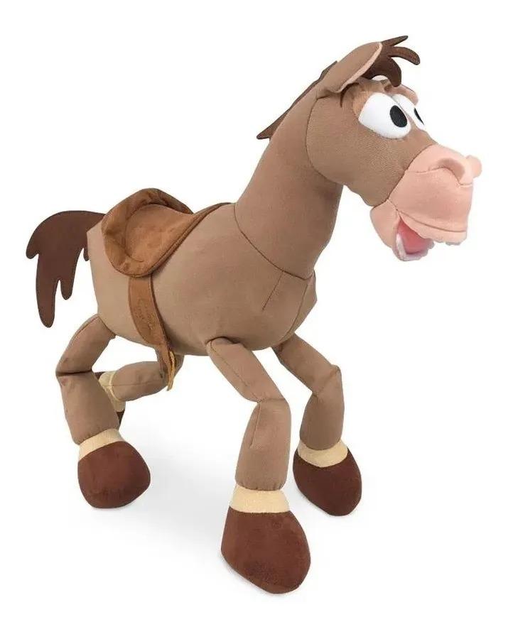 Pelúcia Antialérgica Disney Cavalo Do Woody Bala No Alvo Toy Story Fun