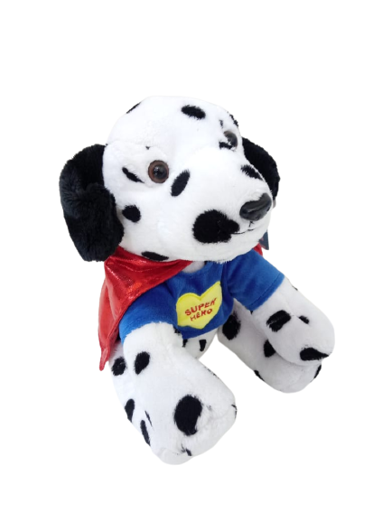 Pelúcia Cachorrinho Super Hero 25 cm Sentado Buba