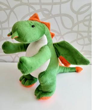 Pelúcia Dino Bob 32 cm Mury Baby