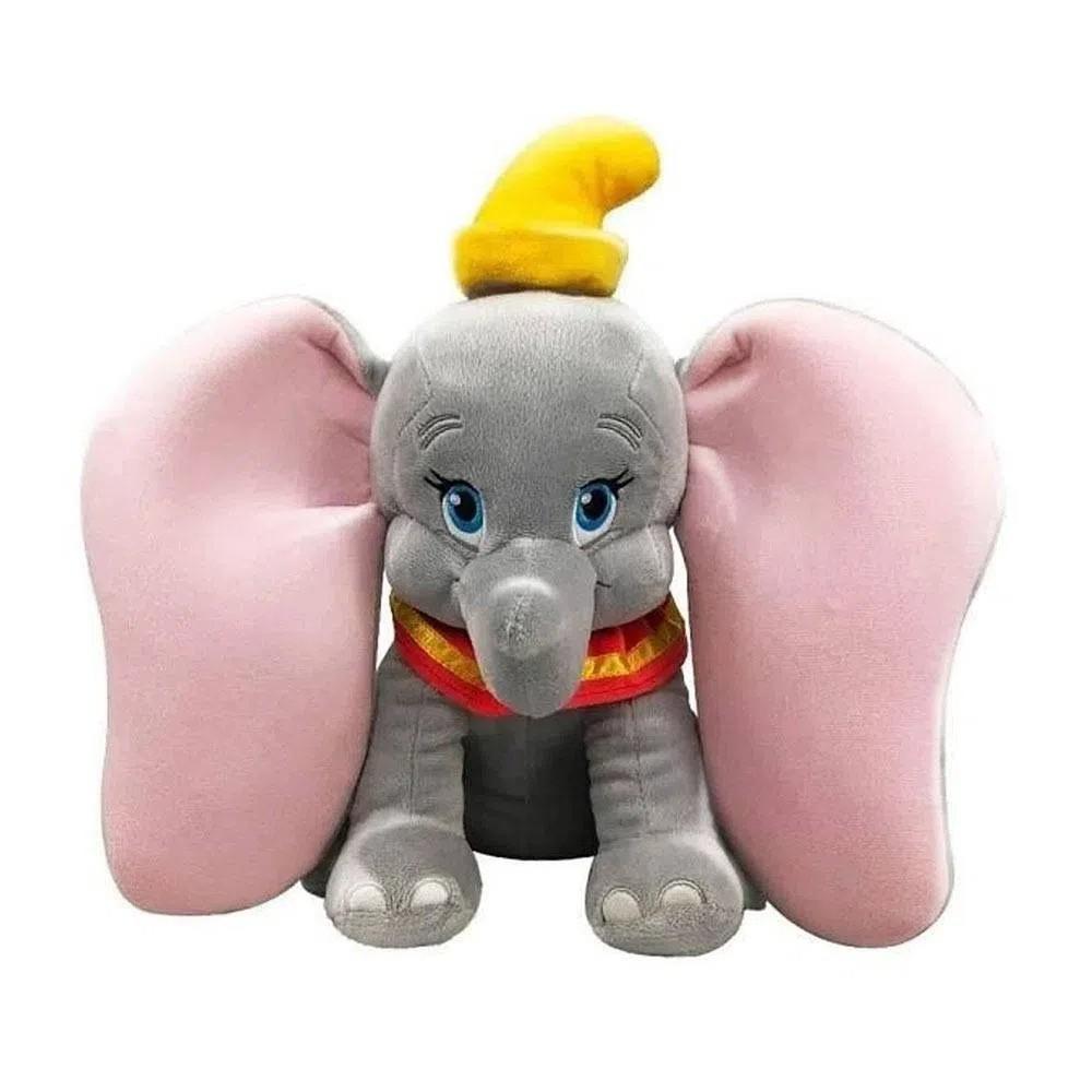 Pelúcia Disney Antialergica Elefantinho Dumbo 35cm Fun