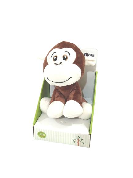 Pelúcia Macaco 22cm Sentado Unik Toys