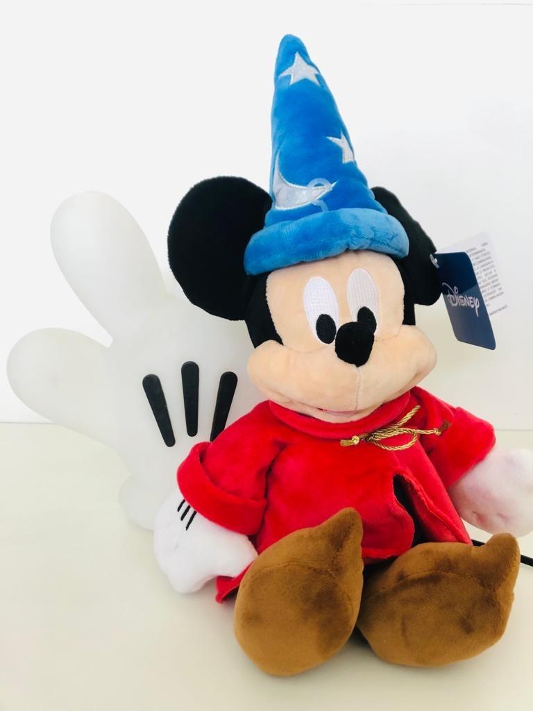 Pelúcia Mickey Fantasy Feiteceiro 80 Anos 45 cm Disney