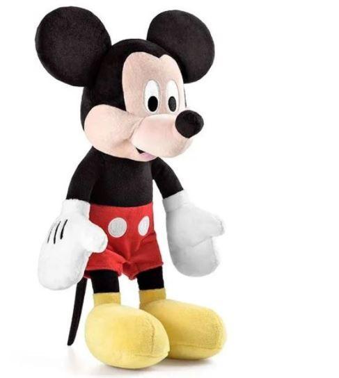 Pelúcia Mickey Mouse 44cm Disney C/ Som Multikidis
