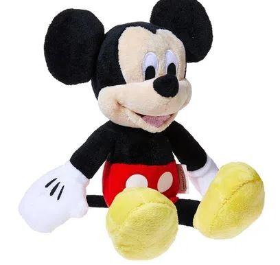 Pelúcia Mickey Mouse Com Som 22 Cm Disney Multikids