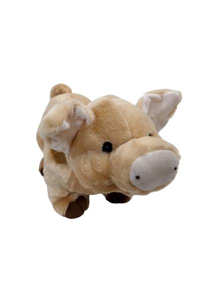 Pelúcia Porquinho Coleção Fazendinha 35cm 324 Brumar